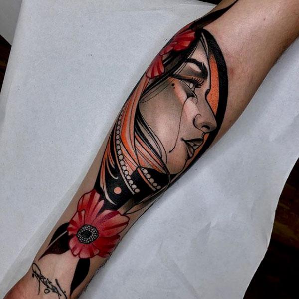 Lea H. Tattoo - Black Ship Tattoo BCN