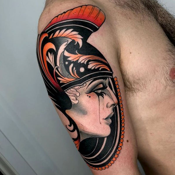 Lea H. Tattoo - Black Ship Tattoo BCN