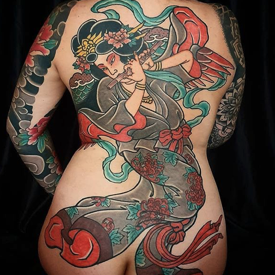 Japanese Tattoo - Black Ship Tattoo BCN